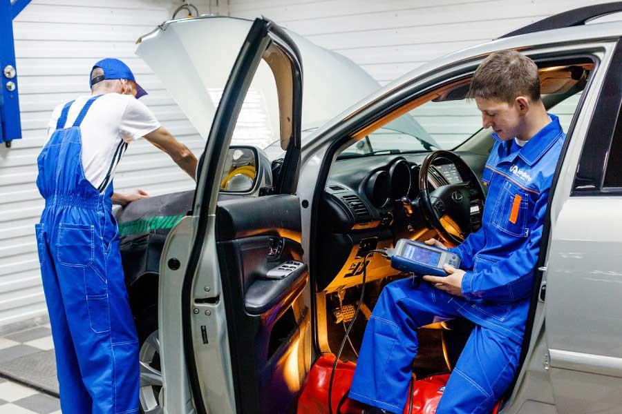 Установка автосигнализации в InstallAuto