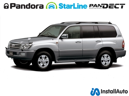 Сигнализации для Toyota Land Cruiser 100