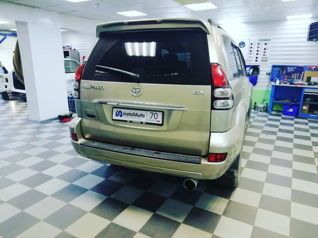 Автосигнализации для Toyota Land Cruiser Prado